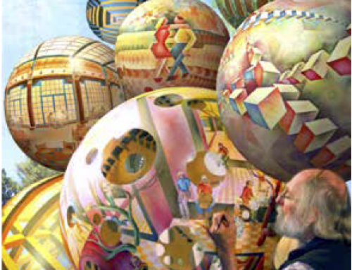 Dick Termes Lecture: Spherical Paintings and the Art of Optical Illusion""
