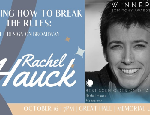 ISU Lecture Series presents Rachel Hauck: Knowing how to break the rules: Set design on Broadway